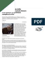 Mujica e _l'Apologia Della Sobrietà__ _Chi Accumula Denaro è Un Malato. La Ricchezza Complica La Vita_ - Repubblica