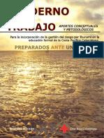 Preparados ante un Tsunami - Cuaderno de Trabajo