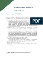 Informe de Biología Del Desarrollo