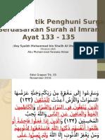 Surah Al Imran Ayat 133-135