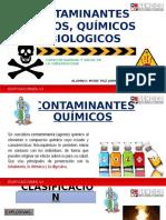 Contaminantes Físicos Químicos y Biologicos