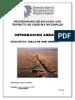 Monografia Para Integracion Areal - Falla de San Andrés Final