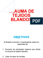 Trauma Tejidos Blandos.ppt