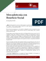 Mercadotecnia Con Beneficio Social