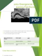 Tratamento Emergencial Da Anemia Falciforme