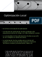 Optimización Local