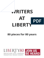 Writers at Liberty Book