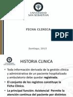 Clase Ficha Clinica