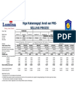 Pricelist Lumina Cab 2016 Rev