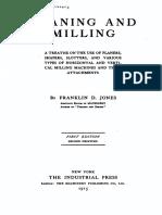 Volume 02 Planing and Milling - Franklin Jones