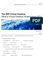 What is a Virtual Desktop Infr