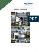 Plano Gestao Residuos Solidos Cachoeirinha 02082012