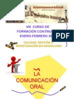 La Comunicación Oral SAR 2015_PELIXLAMATA