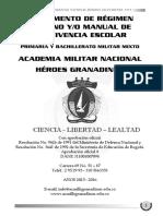 Manual de Convivencia Academia Militar Nacional Héroes Granadinos