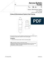 Exhaust Aftertreatment System Fault Tracing