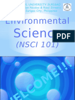Environmental Science (Module 1)