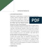 Exposicion Mercantil Contrato de Franquicia