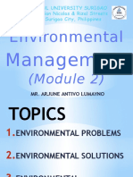 Environmental Science (Module 2)