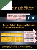 Analisis Del Presupuesto 2016