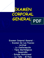 6.7.-. Examen Corporal General