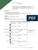 Proposal 1st Aid Drill