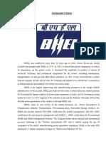 3) Introduction Bhel