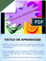 1. Diapositivas Estilos de aprendizaje.ppt