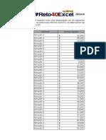 Ejercicio Día 2 - Definir Cálculo Con Función SI y Lista Desplegable en Excel