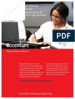 Women Recruitment Brochure - Accenture