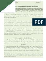 """U1 S3 Actividad 4. Derechos Humanos Principio """"Pro Persona"""""""