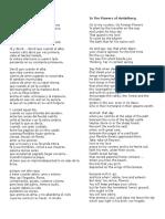 Poem spanish
