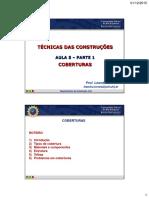 5ª aula - EC1+EC2 - Coberturas