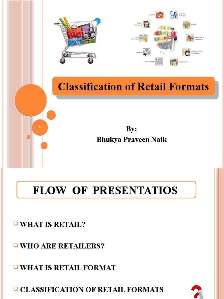 classification of retail formats