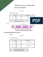 Concreto Armado II - CALCULO DE VIGAS Y COLUMNAS