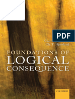 (Mind Association Occasional Series) Colin R. Caret, Ole T. Hjortland-Foundations of Logical Consequence-Oxford University Press (2015)