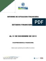 06 Informe de Situación Financiera 2013
