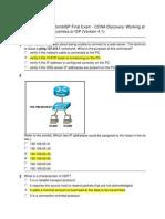 CCNA 2 Final (version 4.1)