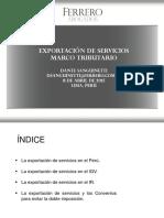 Modos de Exportacion Segun La OMC