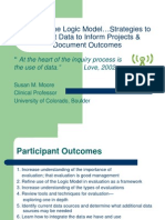 Beyond the Logic Model…Strategies to Collect Data to Inform Projects & Document Outcomes - Susan Moore