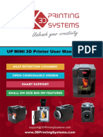 UP Mini 3D Printer Manual.pdf
