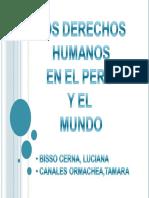 Derecho Humanos g1 2011