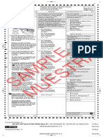 Middleburg Heights, Ohio Sample Ballot