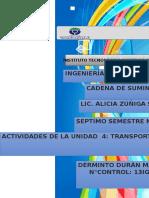 Sistema Logistico. Cadena de Suministro