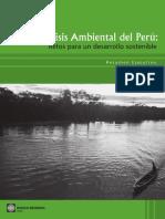 Material de Lectura Análisis Ambiental Del Perú. Retos Para Un Desarrollo Sostenible
