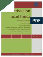 La Motivacion Academica