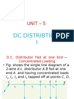 Unit 5 DC Distribution I