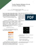 Analisis de circuitos Digitale mediante el uso de Microwind y Verilog