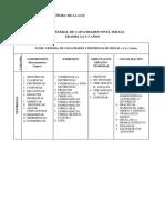 Panel de Capacidades y Destrezas Nivel Inicial 2011