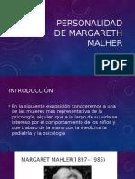 Personalidad de Margareth Malher.pptx