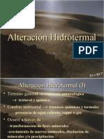 ALTERACION HIDROTERMAL
